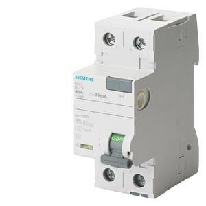 Siemens - 2X25A 30MA KAÇAK AKIM RÖLESİ SIEMENS