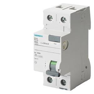 Siemens - 2X63A 30MA KAÇAK AKIM RÖLESİ SIEMENS