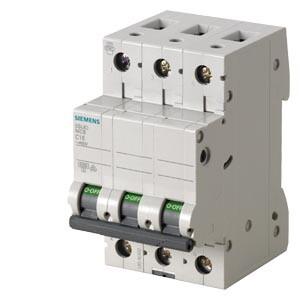 Siemens - 3X6A SİEMENS C OTOMAT 6KA 70MM
