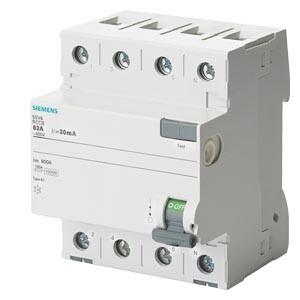 Siemens - 4X25A 30MA KAÇAK AKIM RÖLESİ SIEMENS