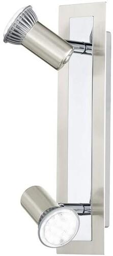 Eglo - Eglo Rottelo Krom 2'li 2x5W GU10 Led Sıva Üstü Spot 30514