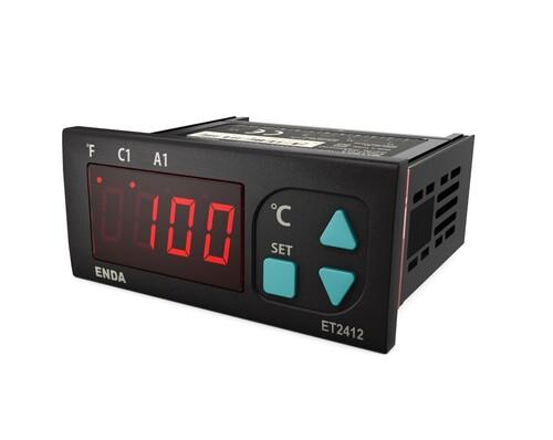 Enda - Enda NTC A1 Alarm Çıkışlı Dijital Sıcaklık Kontrol Cihazı Termostat ET2412-230-08