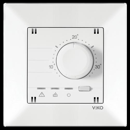 Viko - Viko Karre Meridian Beyaz Analog Termostat Mekanizma 90967130