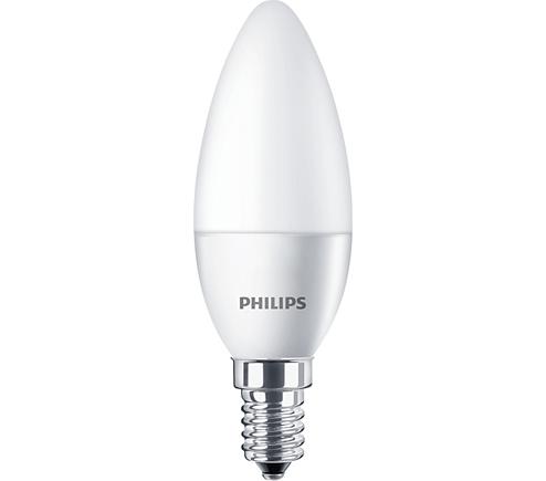 Philips - LEDCANDLE ESSENTİAL 5,5-40W 827 E14 B35 PHILIPS