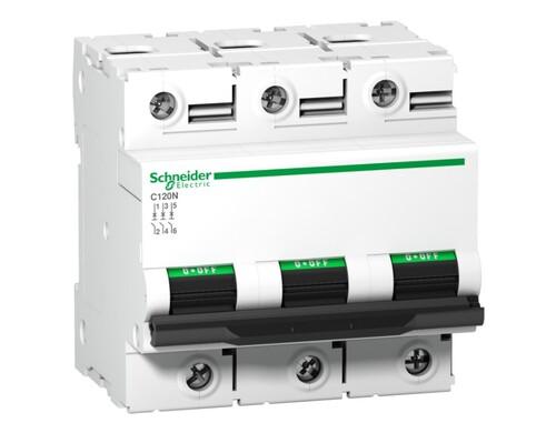 Schneider - Schneider 3X100A 10kA N Seri Acti9 C Otomatik Sigorta A9N18367