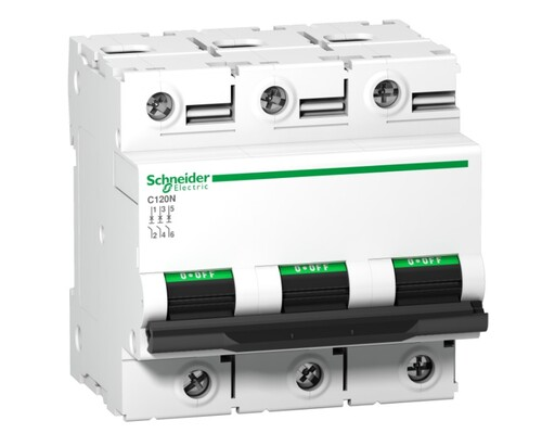 Schneider - Schneider 3X125A 10kA N Seri Acti9 C Otomatik Sigorta A9N18369