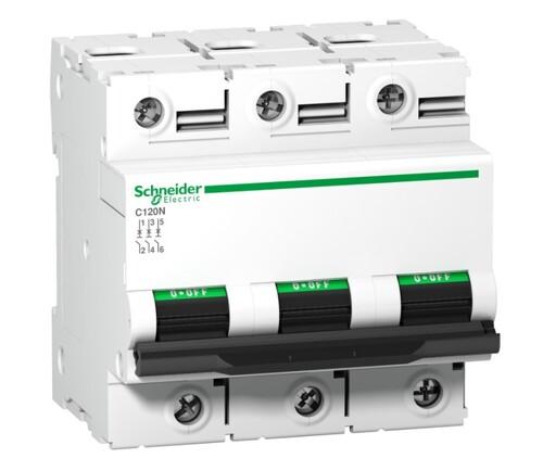 Schneider - Schneider 3X80A 10kA N Seri Acti9 C Otomatik Sigorta A9N18365