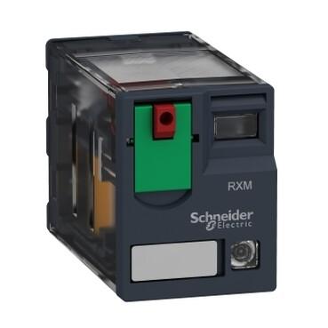 Schneider - Schneider 4 Kutuplu 6A 120VAC LEDli 14 Pin Minyatür Röle RXM4AB2F7