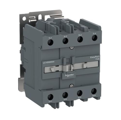 Schneider - Schneider Easy 100A 4P 220VAC Kontaktör LC1E80004M7