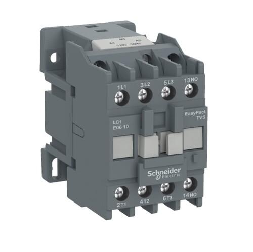 Schneider - Schneider Easy 11KW 3P 25A 1NA 220VAC Kontaktör LC1E2510M5