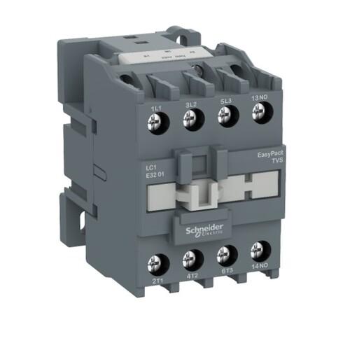 Schneider - Schneider Easy 18,5KW 3P 38A 1NK 220VAC Kontaktör LC1E3801M5