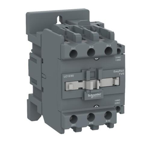 Schneider - Schneider Easy 18,5KW 3P 40A 1NA+1NK 220VAC Kontaktör LC1E40M5