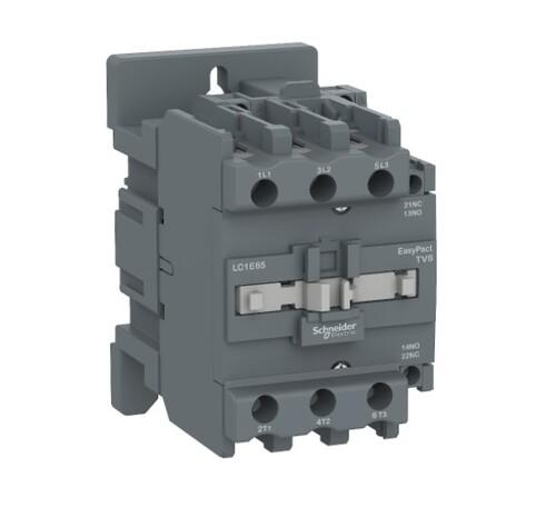 Schneider - Schneider Easy 22KW 3P 50A 1NA+1NK 220VAC Kontaktör LC1E50M5
