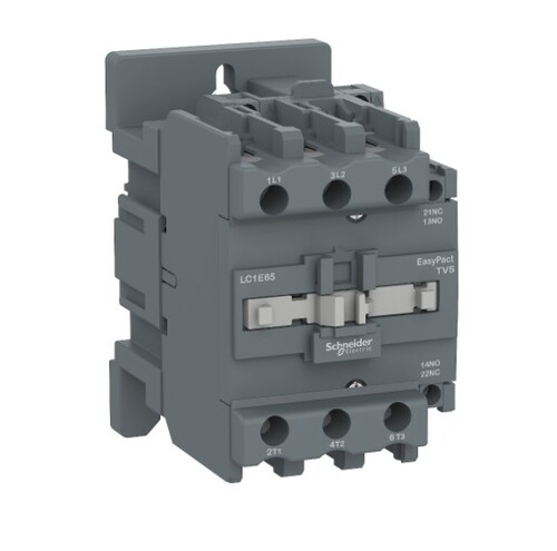 Schneider - Schneider Easy 30KW 3P 65A 1NA+1NK 220VAC Kontaktör LC1E65M5