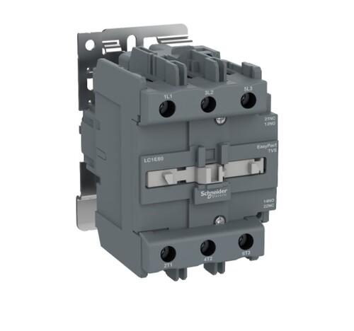 Schneider - Schneider Easy 45KW 3P 95A 1NA+1NK 220VAC Kontaktör LC1E95M5