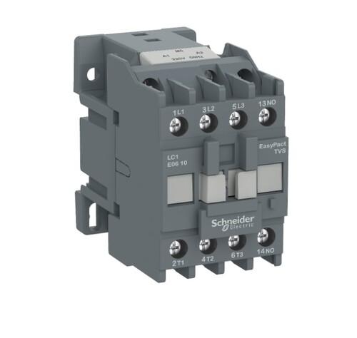 Schneider - Schneider Easy 4KW 3P 9A 1NA 220VAC Kontaktör LC1E0910M5