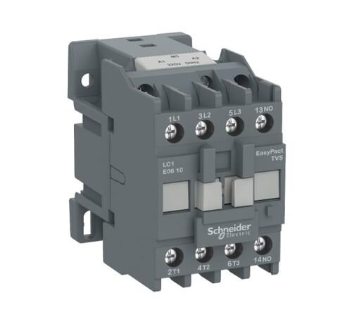 Schneider - Schneider Easy 4KW 3P 9A 1NA 24VAC Kontaktör LC1E0910B5