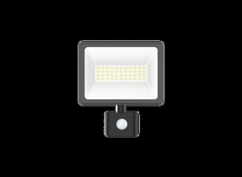 Schneider - Schneider Mureva LED 20W 6500K Beyaz Sensörlü Projektör IMT47217
