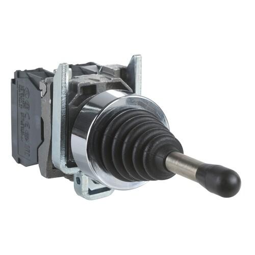 Schneider - Schneider Stil4 Q22 2 Yönlü Kalıcı NA Joystik Kontrol XD4PA12