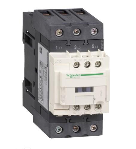 Schneider - Schneider TeSys D 30KW 65A 1NA+1NK 24VAC Kontaktör LC1D65AB7