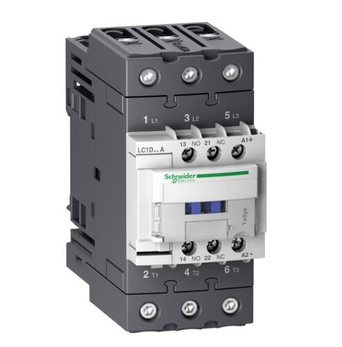 Schneider - Schneider TeSys D 30KW 65A 3P 1NA+1NK 24VDC Kontaktör LC1D65ABD