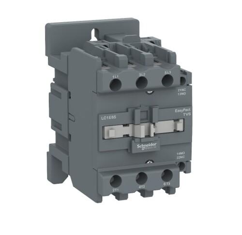 Schneider - Schneider TVS 18,5KW 40A 24VAC 3P 1NA 1NK Kontaktör LC1E40B5
