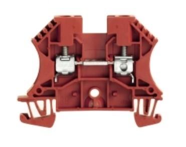 WEIDMULLER - Weidmüller WDU 4 RT 0,5-6 mm2 Kırmızı Ray Klemens 1020140000